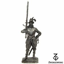 Tin Toy SOLDIER 54mm GERMAN Landsknecht RENAISSANCE Mercenary WARRIOR Tin Figure