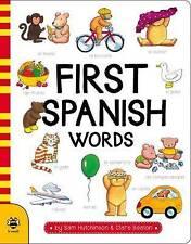 Primera palabras en español (primera palabra Board libros) por Hutchinson, Sam | Board libro Boo