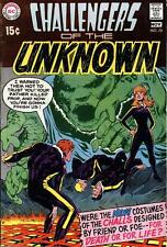 Challengers Of The Unknown #70 Vg, Neal Adams C, center loose, Dc Comics 1969