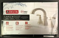 DELTA Lakewood 2-Handle Widespread Lavatory Faucet 35718-SP-DST NEW SEALED
