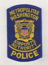 USA Police Uniform Shoulder Patch Metropolitan Washington Airports Authority