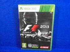 xbox 360 F1 2013 Racing Game Formula 1 One Microsoft PAL REGION FREE