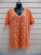 Bonprix Top Orange Size 14 Knitwear Casual  BNWOT G011