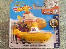 Hot Wheels 2016 #225/250 The BEATLES YELLOW SUBMARINE HW Screen Time Case L