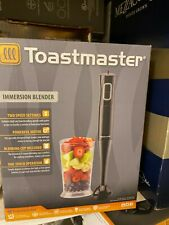 Toastmaster Immersion Hand Blender Mixer Black.  2 Speed 25 Ounce blending cuo