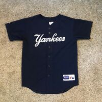 Derek Jeter Majestic Jersey Youth Size Large