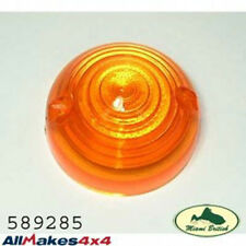 LAND ROVER FRONT UPPER INDICATOR LIGHT LENS LAMP DEFENDER 589285 ALL MAKES