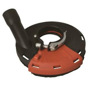 Cyclone 125mm Grinding Dust Extraction Shroud