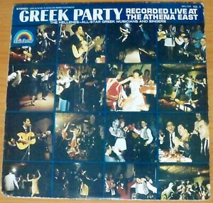 Greek Party, Recorded Live at the Athena East - LP Record