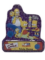 Simpsons Trivia Game In Collectors Tin Cast Poster 2000