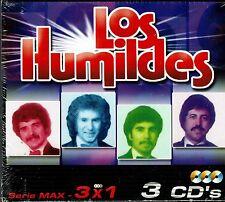 Los Humildes Serie Max 3x1 (33 Temas)   BRAND  NEW SEALED  3 CDS SET BOX