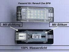 2x TOP LED SMD Kennzeichenbeleuchtung für Renault Zoe BFM (504)