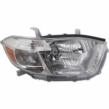 For Highlander 10, Capa Passenger Side Headlight, Clear Lens