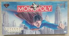 Superman Return Collectors Edition Monopoly Sealed 2006, Mint, Sealed Box