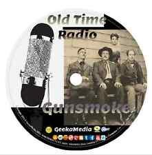 Gunsmoke 509 OTR Episodes and Interviews on Cd DVD Classic Western Radio Show
