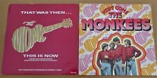 "Here Come The Monkees LP + That Was Then This Is Now 12"" RD/Arista"