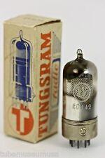 1948 NOS VALVO ECH42 METAL BASE D-GETTER TUBE for precious Telefunken Opus Hi-Fi