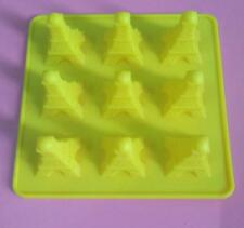 Eiffel Tower Cake Mold Flexible Silicone Mould For Candy Soap Ice tray Pudding