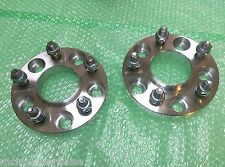 2 X CUSTOM HUBCENTRIC WHEEL SPACERS ADAPTER 5x114.3 67.1 CB 12X1.5 15MM 5X4.5