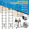 16.5Ft Aluminum Telescopic Extension Folding Step Multi-Use Non-Slip Ladder