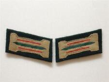 WW2 German Heer Artillery EM Bevo Collar Tabs