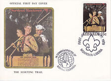 1979 Liberia Scouting / Norman Rockwell Commem.Fdc Cover - The Scouting Trail