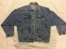Vintage Guess Georges Marciano Denim Blue Jean Jacket Womens Mens S 80s 90s USA