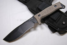 FOX Knife - FX 132 MGT Trapper Survival Knife - Camping Knife   (F23)