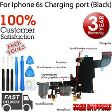 """*NEW* iPhone 6S 4.7"""" GREY Charging Port Audio Jack Flex Cable with FREE TOOL KIT"""
