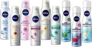 Deodorant Nivea Women Choose from 9 Fragrances Spray Nivea Deo