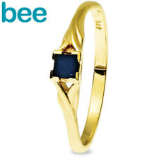 Sapphire Astelia 9ct Solid Yellow Gold Rings Size P 7.75 25234/s