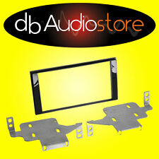Phonocar 3/699 Panel Adaptador para Radio de autos 2Din Negro Brillante