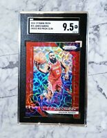 2018-19 Panini Prizm James Harden #34 Choice Red Prizm 23/88 23 88 NBA ALL STAR