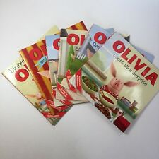 Set of 6 Olivia picture books seen on Nickelodeon paperback School Dinner Cooks