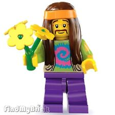 Lego Minifigure 8831 Series 7 - Hippie ( fillmore ) - Brand New Not Sealed NEW