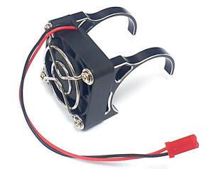1/10 1/8 Scale 540 550 Motor Heat Sink Heatsink Motor Mount with Fan 40mm Black