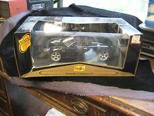 2001 Maisto 1:18 Premiere Edition Black Porsche Carrera GT Diecast Car NIDB