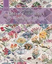 Ribbon Embroidery Stumpwork Original Floral Design Over by Niekerk Di Van