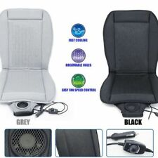 Car Truck Seat Cooling Cover Cushion with Adjustable Cooler Fan Control 12V DC