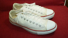 "Converse ""Made In Usa"" Vintage & Rare White Men's Sneakers Size 10.5 Med Euc"