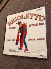 Rigoletto MacNeil Sutherland Nino Sanzogno London OS 25710 Vinyl Record LP New