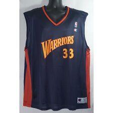 Champion Golden State Warriors Antawn Jamison NBA Jersey Vintage Size 52 XXL