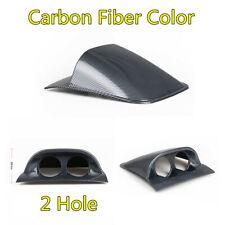 1X Universal Carbon Fiber Look Car Dash 2 Hole Gauge Meter Mount Holder Pod 52mm