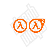 Half Life 2 vinyl sticker decal ps3 xbox ipad mac laptop signs car window portal
