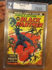 JUNGLE ACTION #8 NM 9.4 WHITE  O:BLACK PANTHER WAKANDA MAP Sep 1973 Marvel
