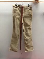 H&M Sand Maternity Cord Jeans And Belt.  UKS (10).  <N1063