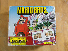 1983 **Super Rare** **POCKETSIZE** NINTENDO Game and Watch MARIO BROS-  boxed!!