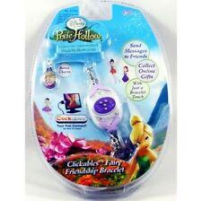 Disney Pixie Hollow Clickables Purple Fairy Friend Bracelet And Bonus Charm New