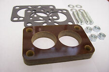 """Fits Stromberg WW Small Rochester 2G Holley 2110 Carb Spacer Phenolic Riser 1/2"""""""