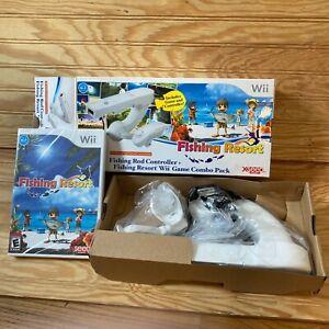 Fishing Resort (Nintendo Wii, 2011) Brand New Sealed with NEW Reel & Box RARE!